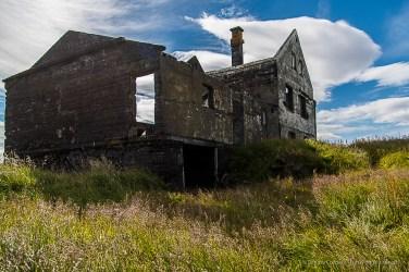 Ruins of of Helga Halldorsdottir and Halgrimur Olafsson's farm in Dadverdara, near Londrangar and Hellnar. Nikon D810, 24 mm (24-120.0 mm ƒ/4) 1/800 sec ƒ/4.5 ISO 64