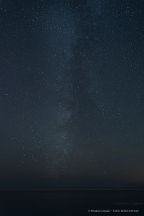The Milky Way from Manarola. Nikon D810, 24mm (24 mm ƒ/1.4) 30 sec ƒ/2.8 ISO 800