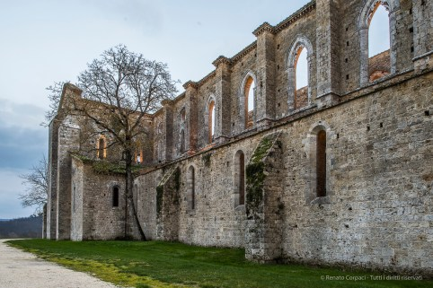 """The northern side of the Abbey. Nikon D810, 24 mm (24.0 mm ƒ/1.4) 1/3"""" ƒ/10 ISO 64"""