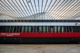 """Santiago Calatrava. Reggio Emilia, Stazione AV Mediopadana. Nikon D810, 24 mm (24 mm ƒ/1.4) 1/50"""" ƒ/6.3 ISO 64"""