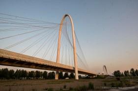 """Santiago Calatrava. Reggio Emilia, Three bridges """"Le Vele"""". Nikon D750, 20 mm (20.0 mm ƒ/1.8) 1/40"""" ƒ/8 ISO 160"""
