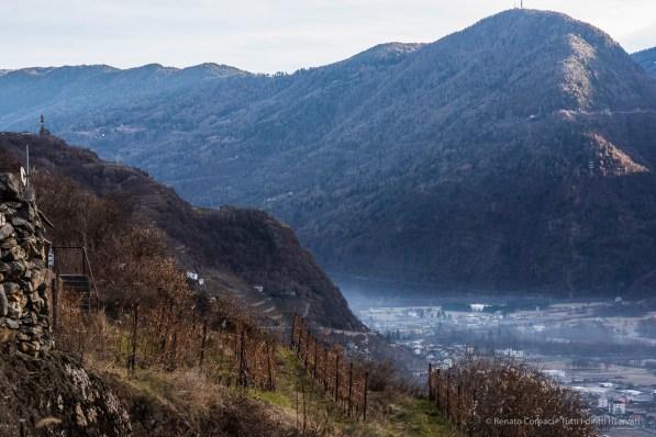 """The church of San Gottardo, XVIII Century, on the left, overlooking the valley. Nikon D810, 85 mm (85 mm ƒ/1.4) 1/20"""" ƒ/11 ISO 64"""