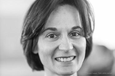"""Cristina Bucci, curator, Fondazione di Palazzo Strozzi teching department. Milano, March 2018. Nikon D810 85 mm (85 mm ƒ/1.4) 1/125"""" ƒ/1.4 ISO 1800"""
