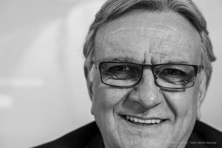"Franco Moscetti, CEO Gruppo 24 Ore. Milano, February 2018. Nikon D810, 85 mm (85.0 mm ƒ/1.4) 1/80"" ƒ/4.0 ISO 2000"
