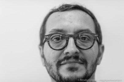 "Davide Quadrio, founder Bizart Art Center - Shanghai, producer and curator, Milano, April 2018. Nikon D810, 85 mm (85 mm ƒ/1.4) 1/125"" ƒ/1.4 ISO 2500"
