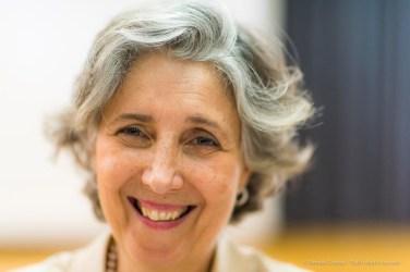 Marilena Pirrelli, journalist, educator. Torino, April 2018. Nikon D810, 85 mm (85 mm ƒ/1.4) 1/160 ƒ/1.4 ISO 1100