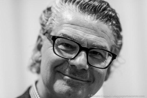 "Victor Gisler, art dealer, Mai 36 Galerie, Zurich. Milano, April 2018. Nikon D810 85 mm (85 mm ƒ/1.4) 1/160"" ƒ/1.4 ISO 1250"