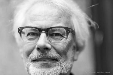 """Wim van Sinderen, conservator fotomuseum Den Haag, curator. Milano, May 2018. Nikon D810, 85 mm (85 mm ƒ/1.4) 1/125"""", ƒ/1.4 ISO 500"""