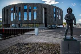 Hof Cultural and Conference Centre. Nikon D810, 24 mm (24-120.0 mm ƒ/4) 1/500 sec ƒ/11 ISO 1250