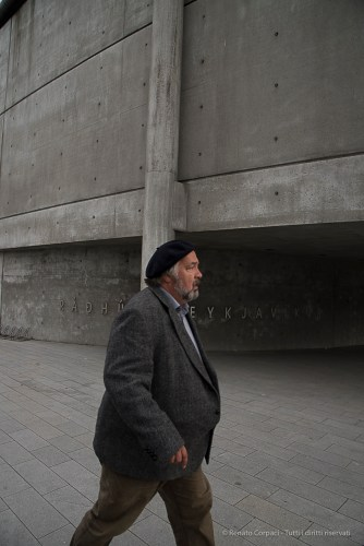 Reykjavik City Hall, Nikon D810, 28.0mm (24-120.0mm ƒ/4.0) 1/320 sec ƒ/8 ISO 400