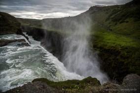 Gulfoss is a waterfall located in the canyon of Hvítá river. Nikon D810, 24 mm (24-120.0 mm ƒ/4) 1/125 sec ƒ/4 ISO 64