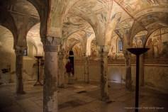 Aquileia, Duomo. Cripta degli affreschi. Nikon D810, 24 mm (24-120.0 mm ƒ/4) 1/125 sec ƒ/4 ISO 6400