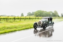 """Alan and Hans Hulsbergen on a 1923 BENTLEY 3 LITRE with the number """"1"""". Nikon D810, 24 mm (24.0mm ƒ/1.4) ) 1/80"""" ƒ/2.5 ISO 64"""