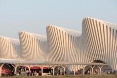 """Santiago Calatrava. Reggio Emilia, Stazione AV Mediopadana. Nikon D750, 105 mm (105.0 mm ƒ/2.8) 1/160"""" ƒ/7.1 ISO 100"""