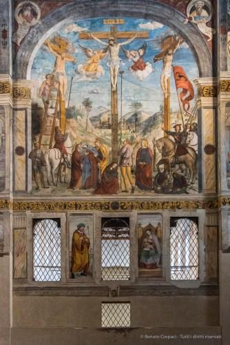 """Choir of the cloistered nuns of Santa Giulia. Nikon D810, 40 mm (24-120.0 mm ƒ/4) 1/250"""" ƒ/4.5 ISO 6400"""