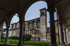 "Santa Giulia, Brescia. Chiostro di San Salvatore. Nikon D810, 24 mm (24-120.0 mm ƒ/4) 1/160"" ƒ/8 ISO 64"
