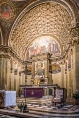 "Milano, church of Santa Maria in San Satiro. Apsis, trompe-l'œil Nikon D750, 24 mm (24.0 mm ƒ/1.4) 1/15"" ƒ/8 ISO 3200"