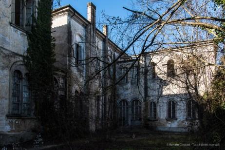 "Volterra, formerly the psychiatric asylum. January 2017. Nikon D810, 30 mm ( 24-120.0 mm ƒ/4) 1/60"" ƒ/8 ISO 64."