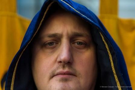 "A citizen of Ivrea during Carnival. Nikon D810, 85 mm (24-120 mm ƒ/4) 1/160"" ƒ/4 ISO 200"