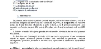 gli effetti in virtc3b9 della morte del socio nelle societc3a0 semplici e le clausole di continuazione 1
