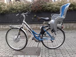 bici con seggiolino