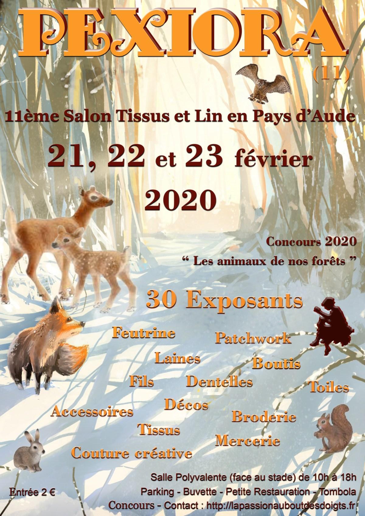 Affiche-Pexiora-salon-février-2020