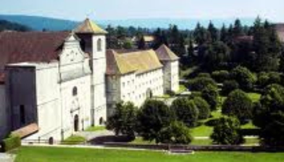 Le clocher de l'abbaye - Renaud de Joux
