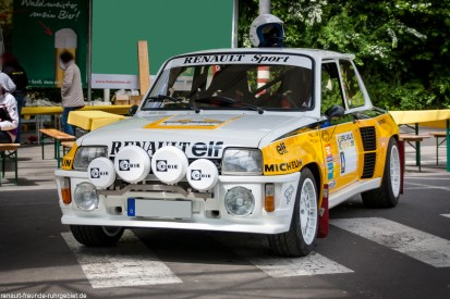 Renault 5 Turbo beim Treffen des Renault Team Oberberg in Gummersbach