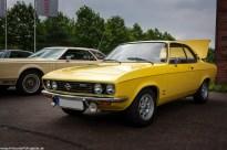 Opel Manta A beim Oldtimertreff Ruhr (Juli)