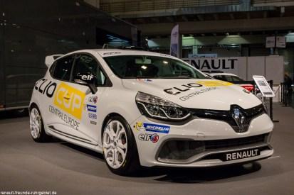Renault Clio 4 R.S.bei der Essen Motor Show 2016