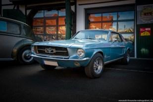 Ford Mustang beim Oldtimer-Treffen in Bergkamen (Februar 2017)