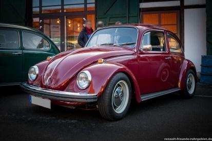 VW Käfer beim Oldtimer-Treffen in Bergkamen (Februar 2017)