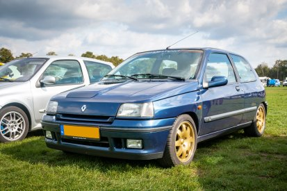 Renault Clio 1 Williams - 4e Fête Renaultoloog