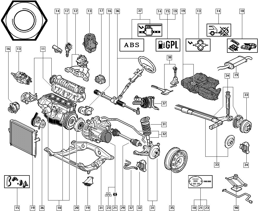Renault Megane Parts Catalog