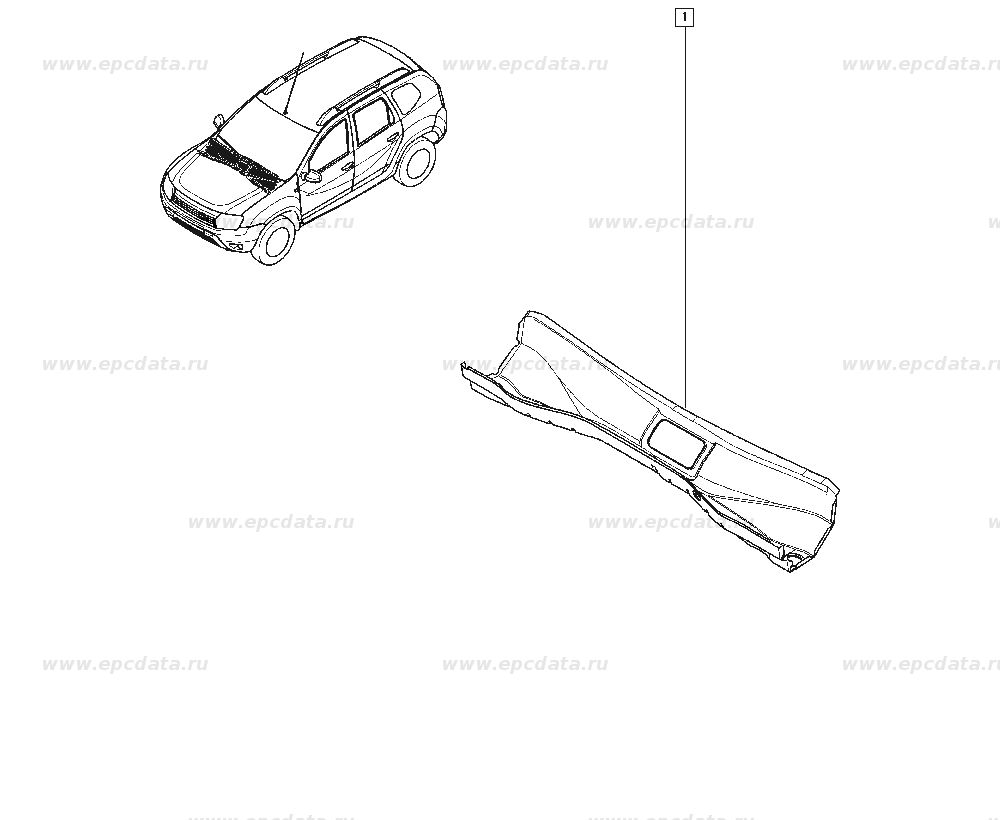 Рено Дастер (Renault Duster) 6001551458