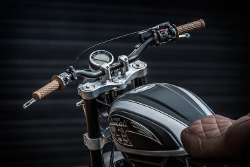 Down & Out Cafe Racers Ducati Scrambler | CustomBIKE.cc