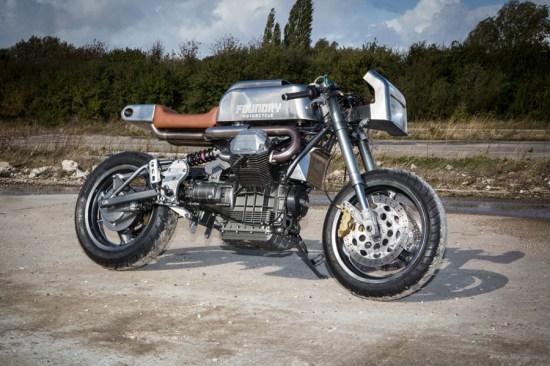 Foundry Motorcycles 1998-Moto-Guzzi-1100i-Sport  CustomBike.cc