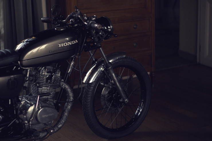 Dauphine Lamarck Honda CB125S-1   CustomBike.cc