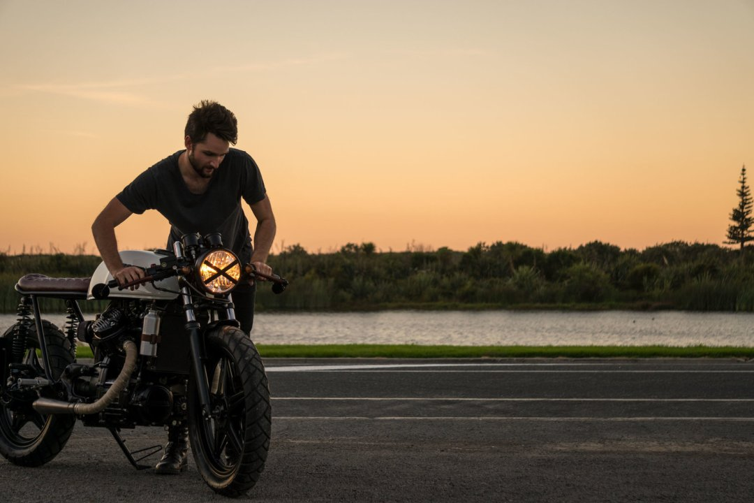 Will Nicholson Wheeling Custom CX500 | CustomBIKE.cc