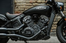 Indian Scout Bobber Launch