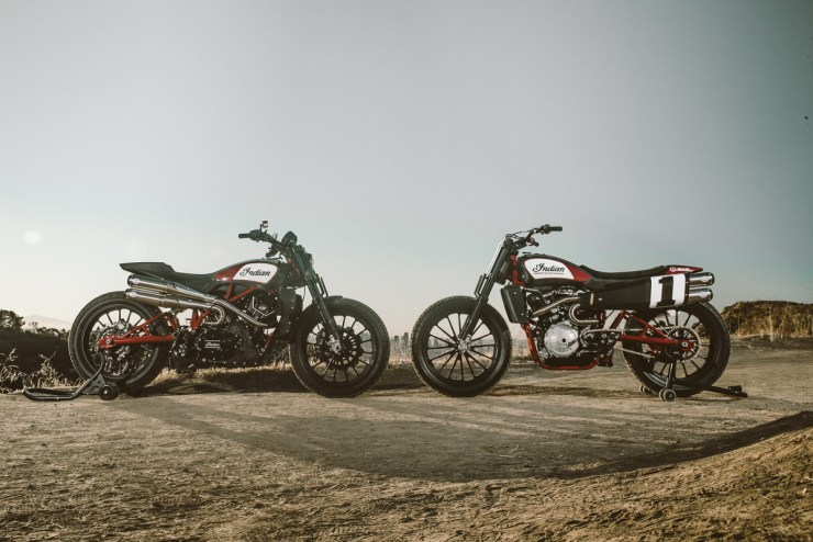 Indian Motorcycle FTR750 & Scout FTR1200