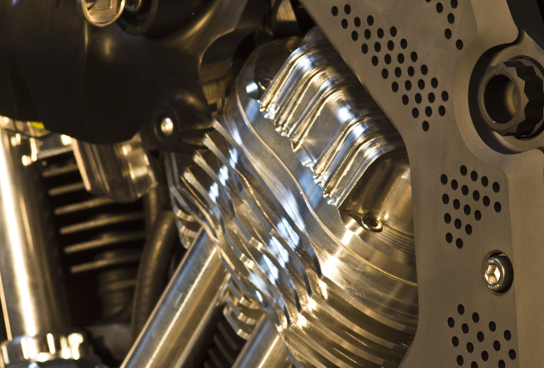 Confederate Motorcycles FA-13 Combat Bomber Cylinder Head