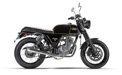 MASH MOTORCYCLES BLACK SEVEN 125
