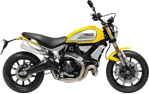 Ducati Scrambler 1100 YELLOW Right Side