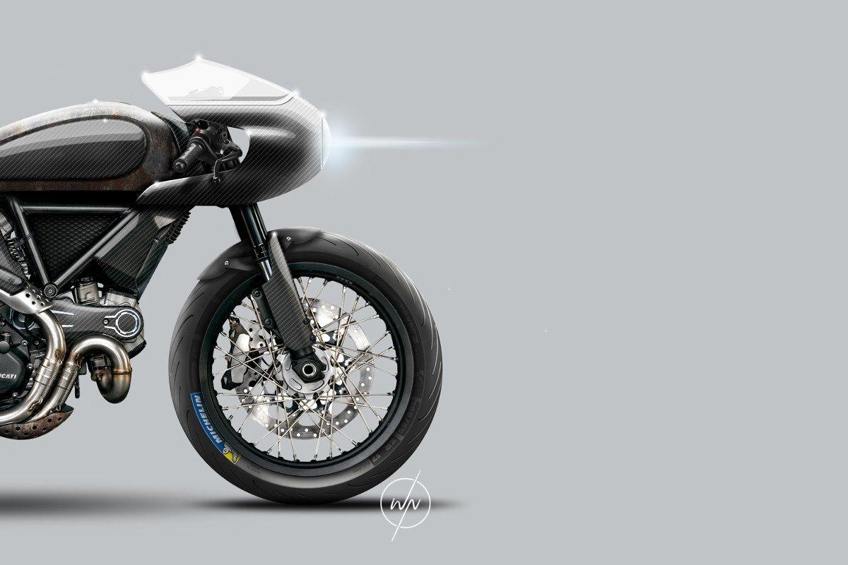 Ducati Scrambler Café Racer Custom Concept