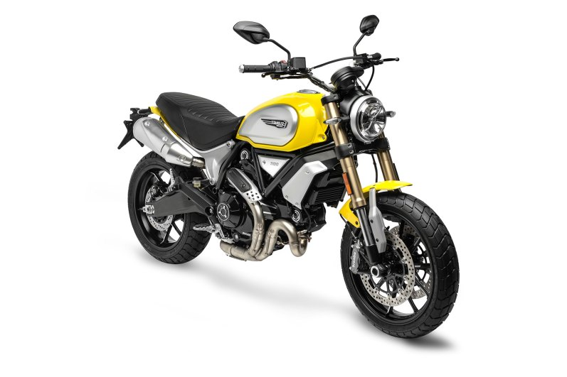 Ducati Scrambler Yellow 1100 Front Right