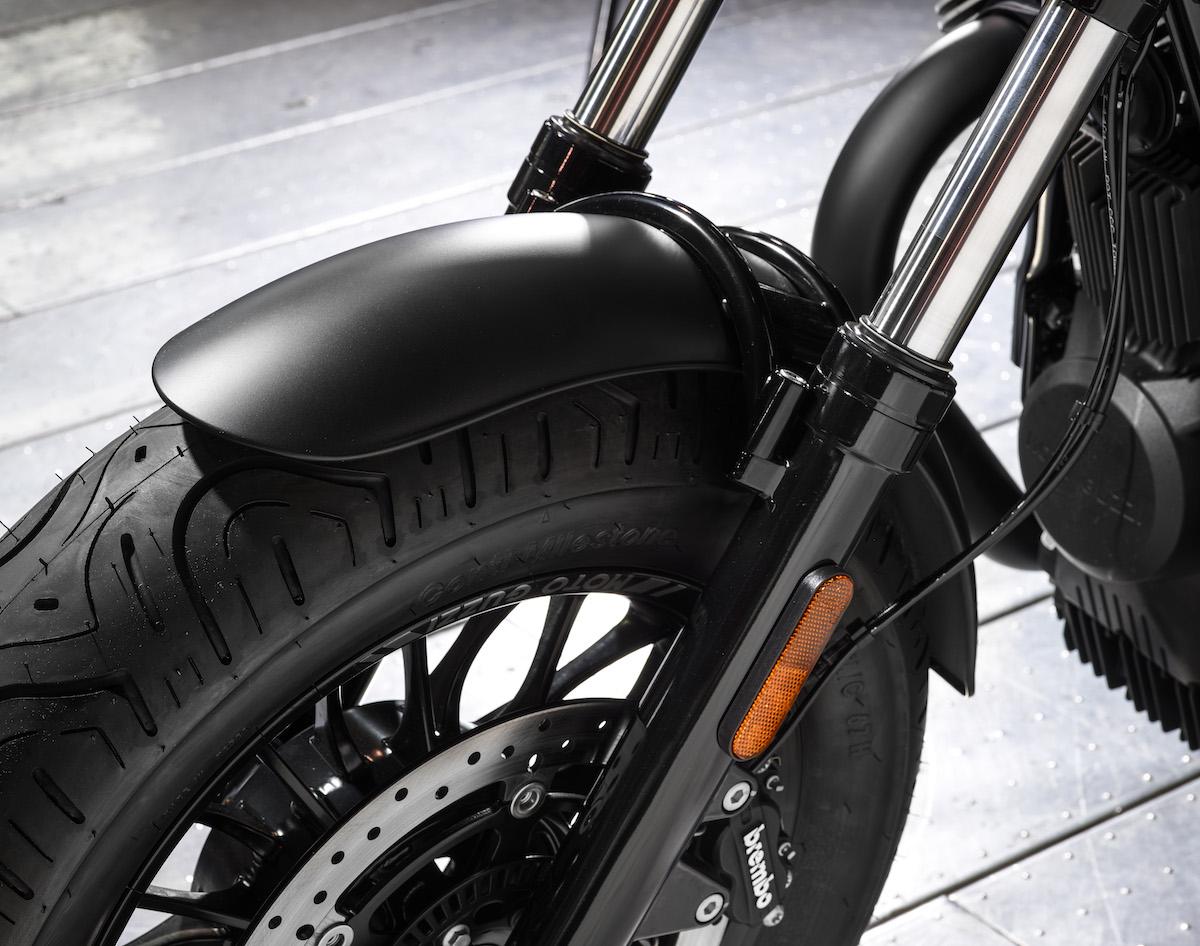 Front Fender - Moto Guzzi V9 Bobber Custom