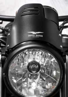Headlight Cover - Moto Guzzi V9 Bobber Custom