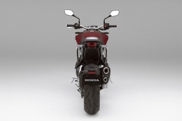 Honda-CB1000R-Red-Rear