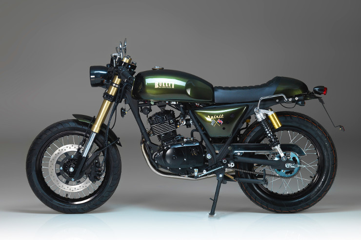 Retro 125cc Motorcycles | Bullit Motorcycles | Spirit 125